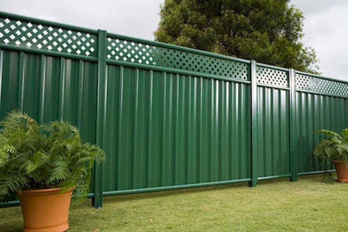 75 Easy Cheap Backyard Privacy Fence Design Ideas