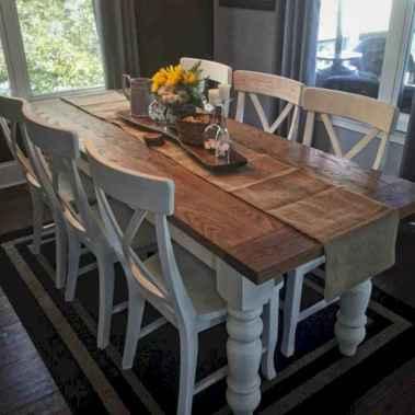 77 best farmhouse dining room makeover decor ideas