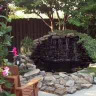84 awesome backyard ponds and water garden landscaping ideas