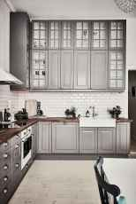 02 awesome gray kitchen cabinet design ideas