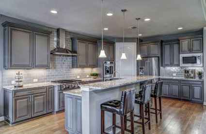 16 awesome gray kitchen cabinet design ideas