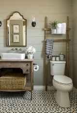 16 cool farmhouse bathroom remodel decor ideas