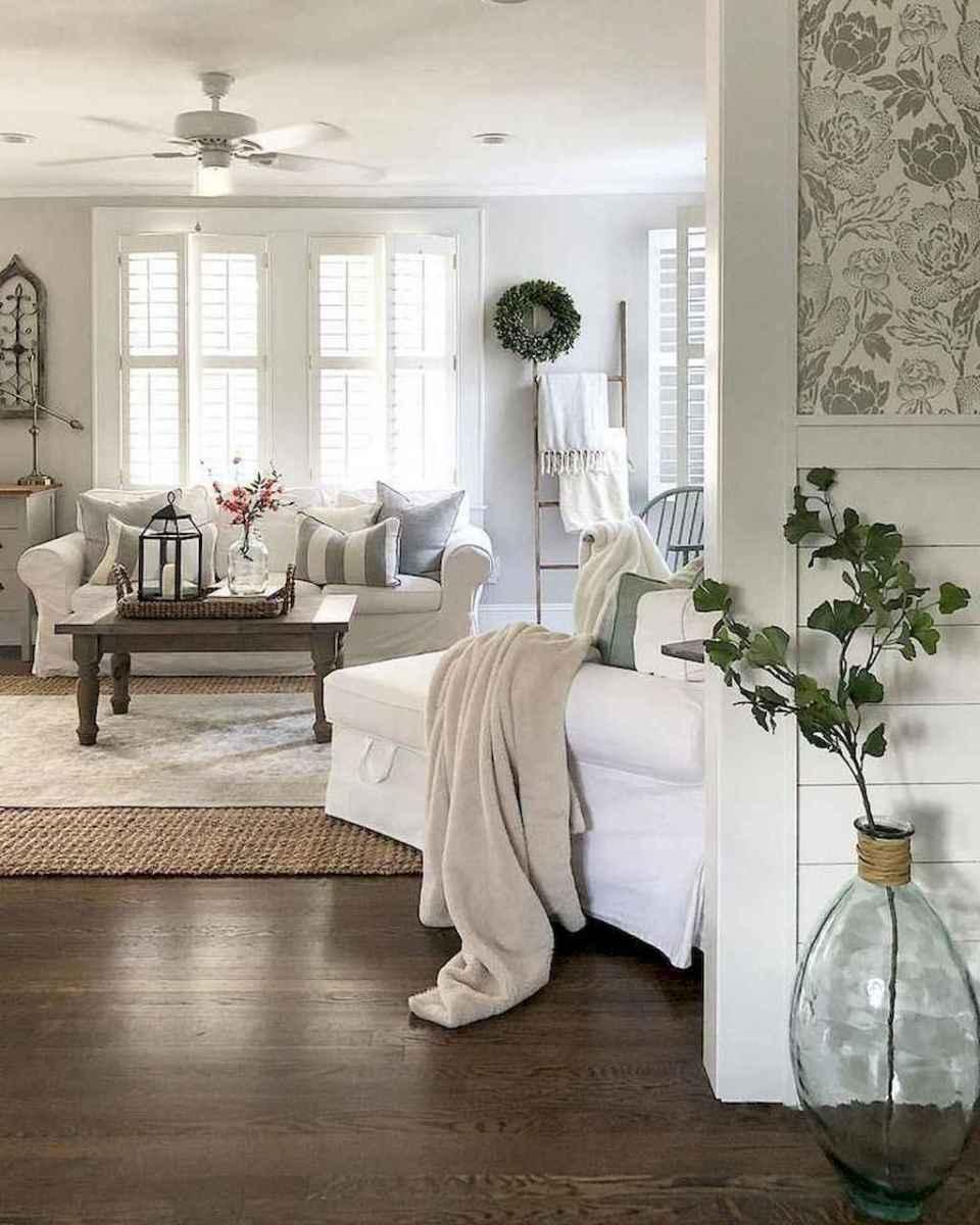23 best modern farmhouse living room decor ideas