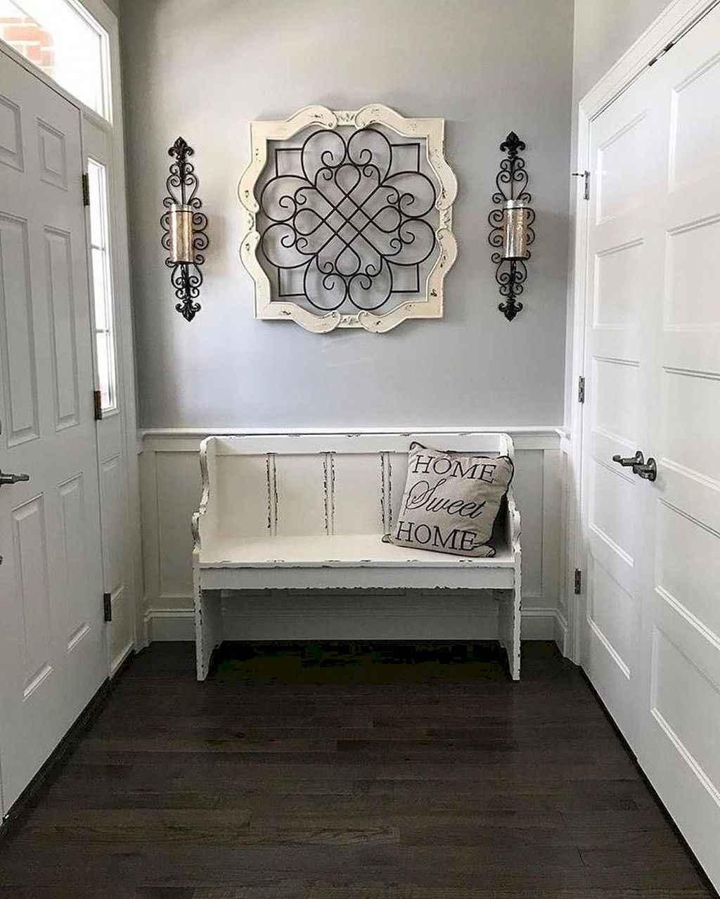 29 Stunning Rustic Entryway Decorating Ideas