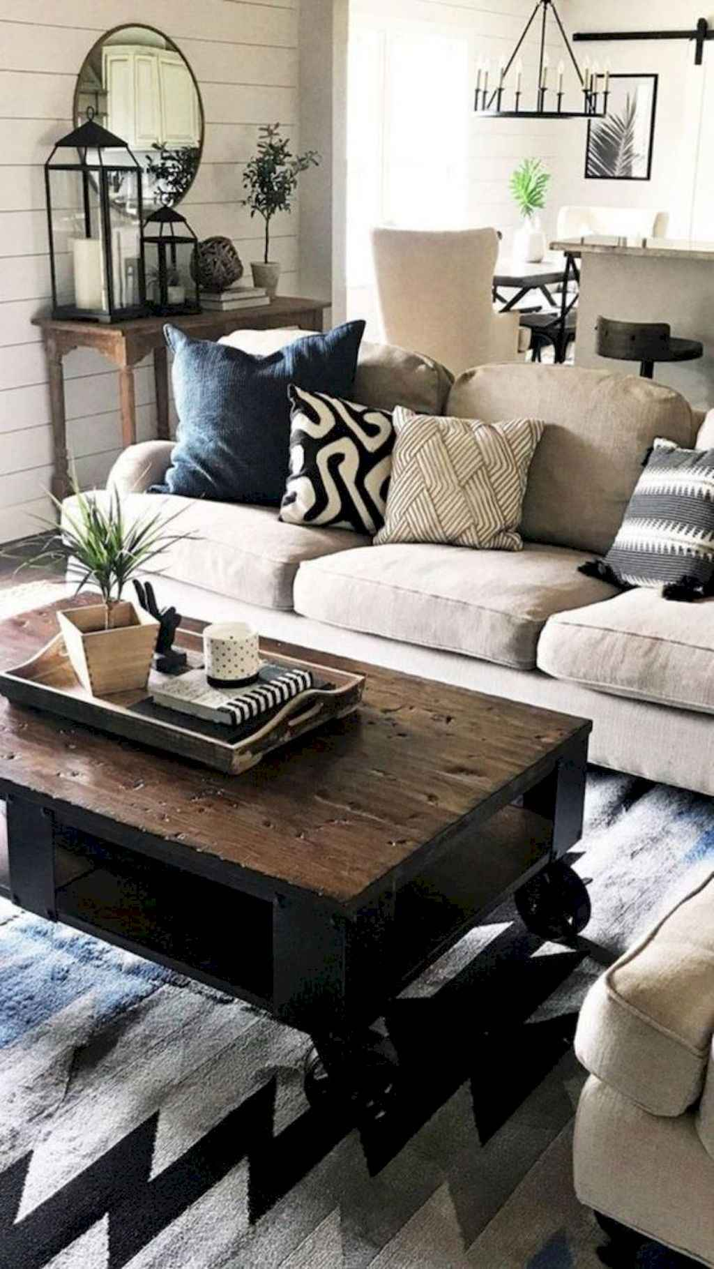 Cozy Living Rooms: 32 Cozy Farmhouse Living Room Decor Ideas