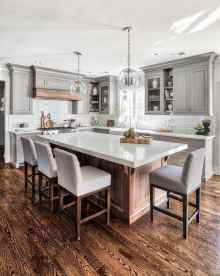 35 awesome gray kitchen cabinet design ideas