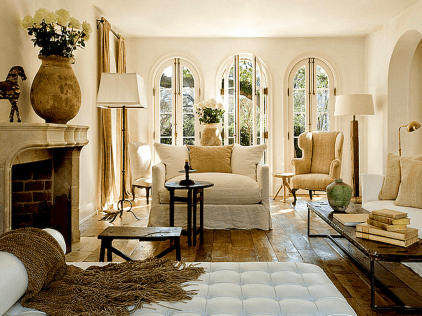 37 fancy french country living room decor ideas
