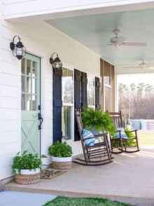 39 gorgeous farmhouse front porch decorating ideas