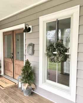 40 gorgeous farmhouse front porch decorating ideas