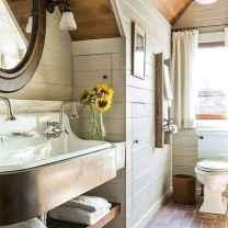 42 cool farmhouse bathroom remodel decor ideas