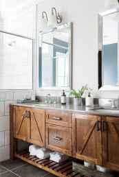50 cool farmhouse bathroom remodel decor ideas
