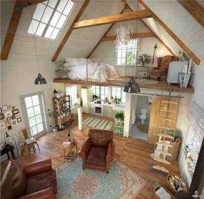 51 amazing loft stair for tiny house ideas