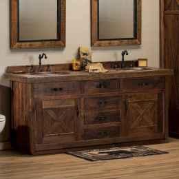 52 cool farmhouse bathroom remodel decor ideas