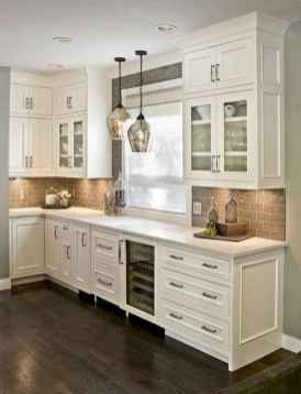 58 awesome gray kitchen cabinet design ideas