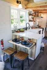 59 amazing tiny house kitchen design ideas