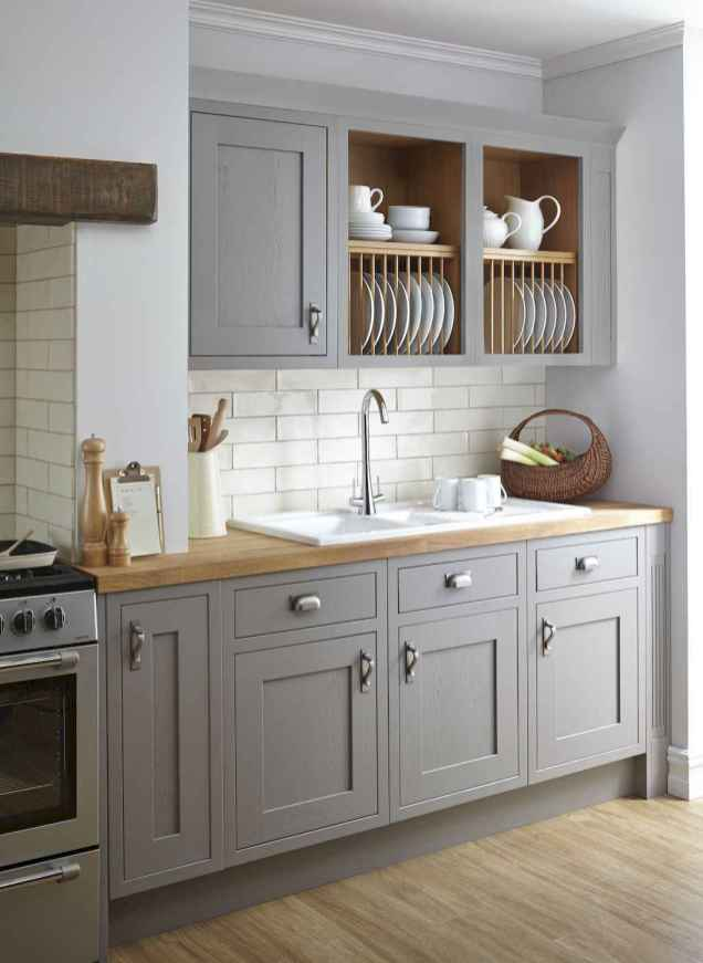 59 awesome gray kitchen cabinet design ideas