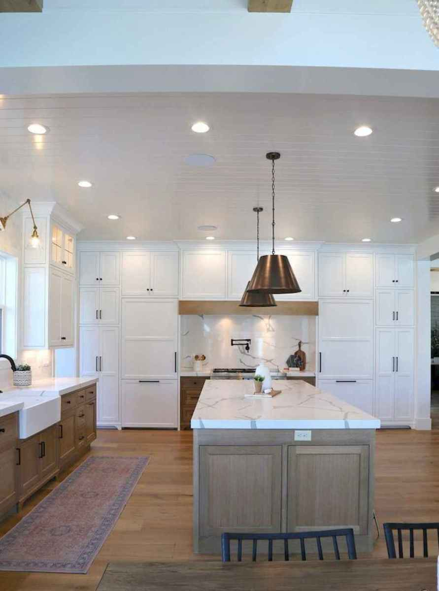 63 modern farmhouse kitchen cabinet makeover design ideas