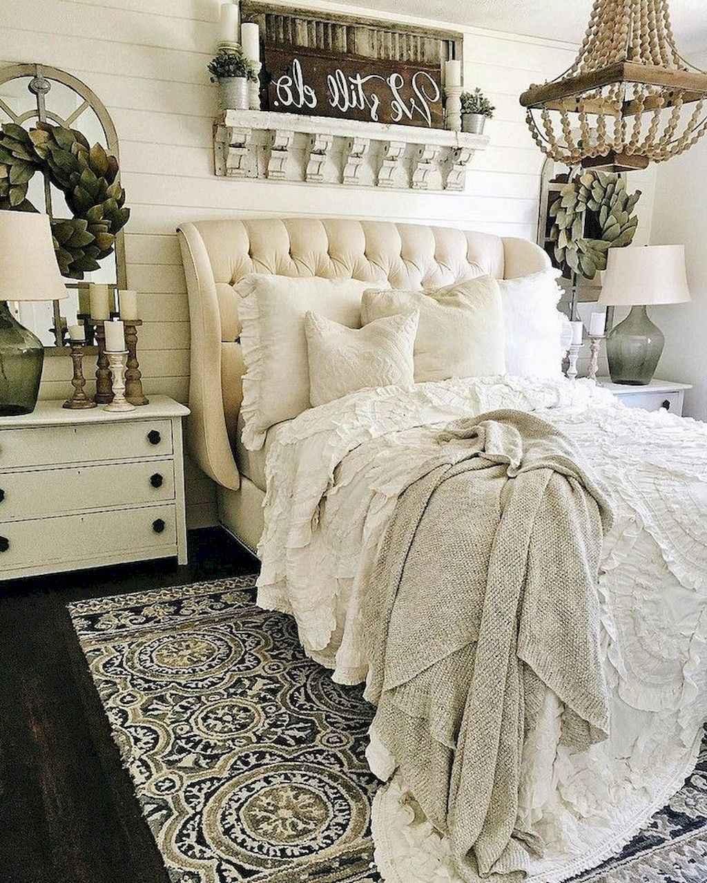 64 Gorgeous Farmhouse Master Bedroom Ideas