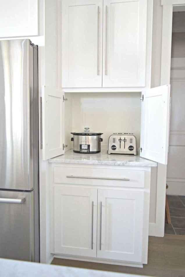 74 beautiful white kitchen cabinet design ideas