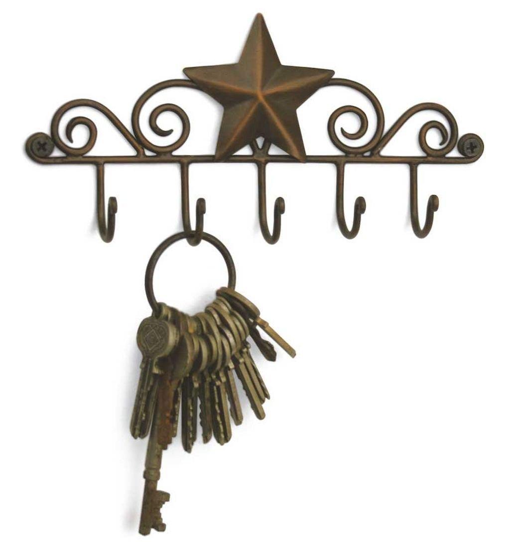 03 diy creative key holder for wall ideas