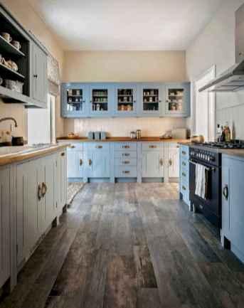 07 elegant gray kitchen cabinet makeover for farmhouse decor ideas