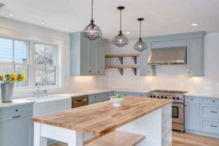 09 elegant gray kitchen cabinet makeover for farmhouse decor ideas