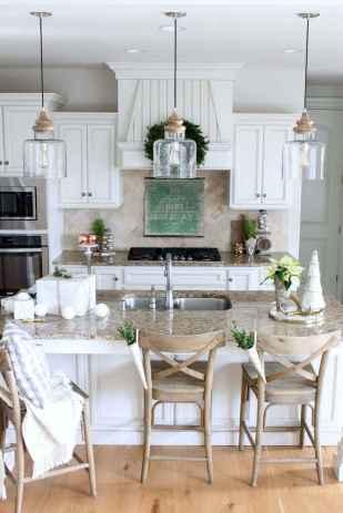 09 white kitchen cabinet decor for farmhouse style ideas