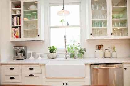 23 white kitchen cabinet decor for farmhouse style ideas