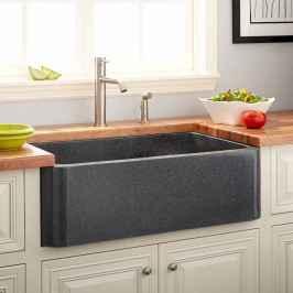 24 elegant gray kitchen cabinet makeover for farmhouse decor ideas