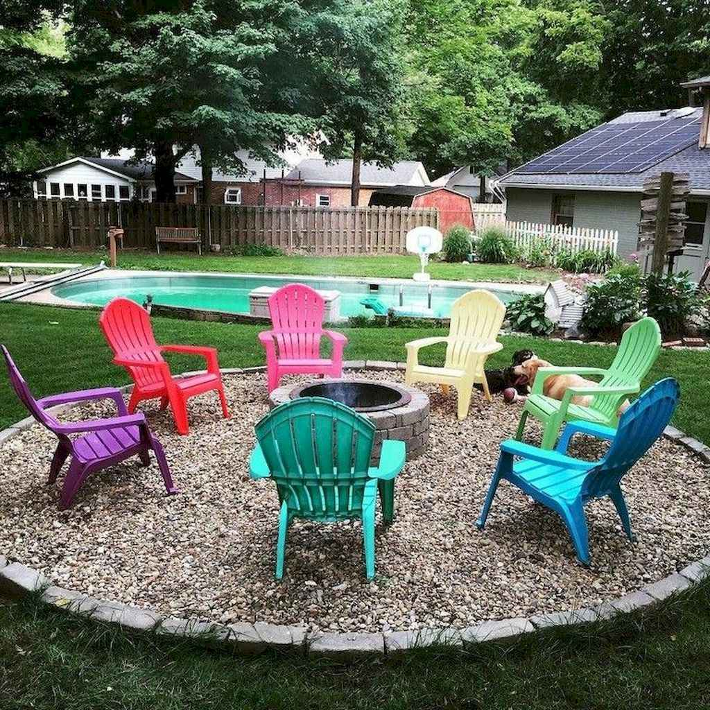 26 awesome backyard fire pits with seating ideas