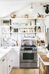 28 elegant gray kitchen cabinet makeover for farmhouse decor ideas