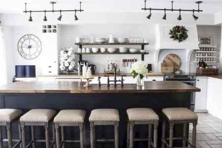 29 elegant gray kitchen cabinet makeover for farmhouse decor ideas