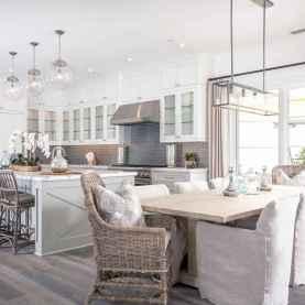 32 elegant gray kitchen cabinet makeover for farmhouse decor ideas