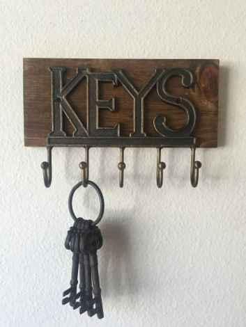 41 diy creative key holder for wall ideas