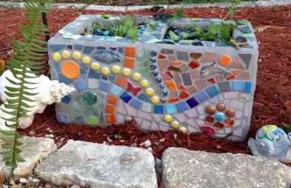 43 excellent diy mosaic ideas to make for your garden