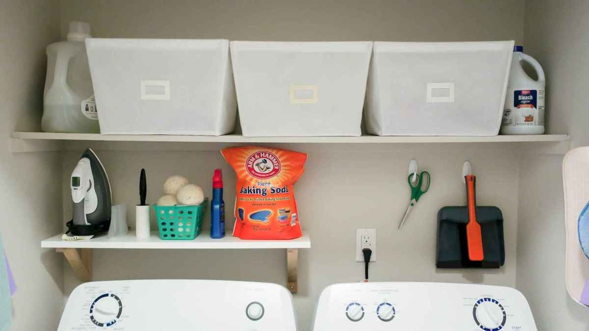 43 smart laundry room organization ideas
