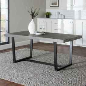 53 elegant gray kitchen cabinet makeover for farmhouse decor ideas