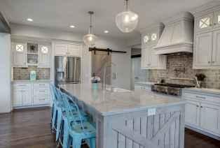 61 elegant gray kitchen cabinet makeover for farmhouse decor ideas