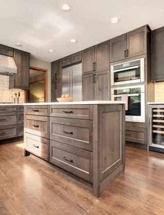 67 elegant gray kitchen cabinet makeover for farmhouse decor ideas