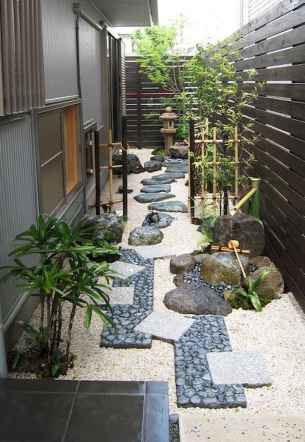 70 incredible side house garden landscaping ideas with rocks