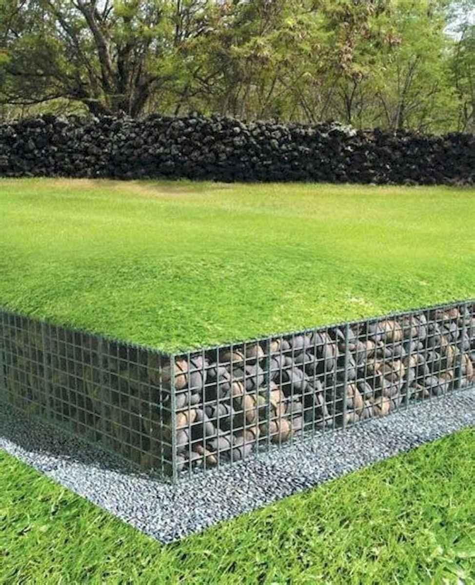 71 fabulous gabion ideas for your outdoor area