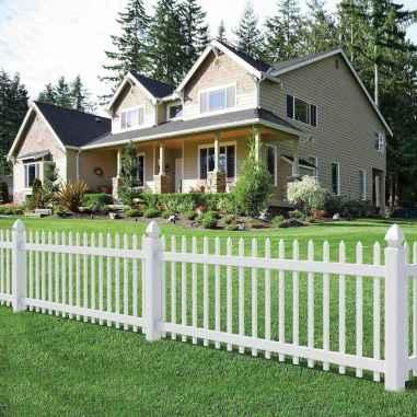 01 best front yard fence design ideas