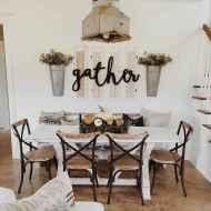 02 fantastic farmhouse dining room design ideas