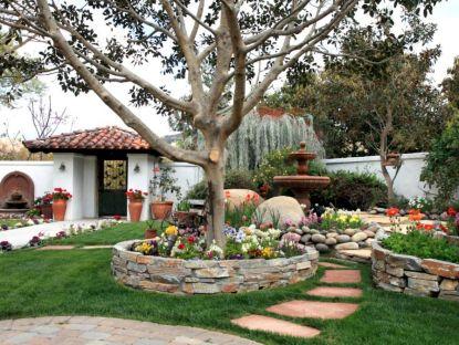 18 beautiful and creative flower bed desgin ideas for garden