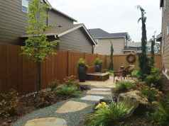 22 incredible side yard garden landscaping ideas with rocks