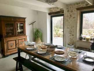 25 fantastic farmhouse dining room design ideas