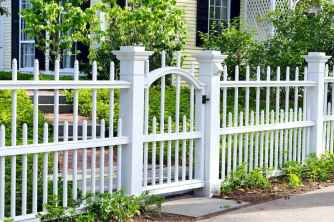 28 best front yard fence design ideas