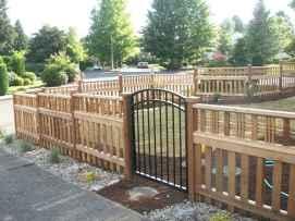 31 best front yard fence design ideas