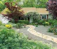44 simple and beautiful front yard landscaping ideas on a budget