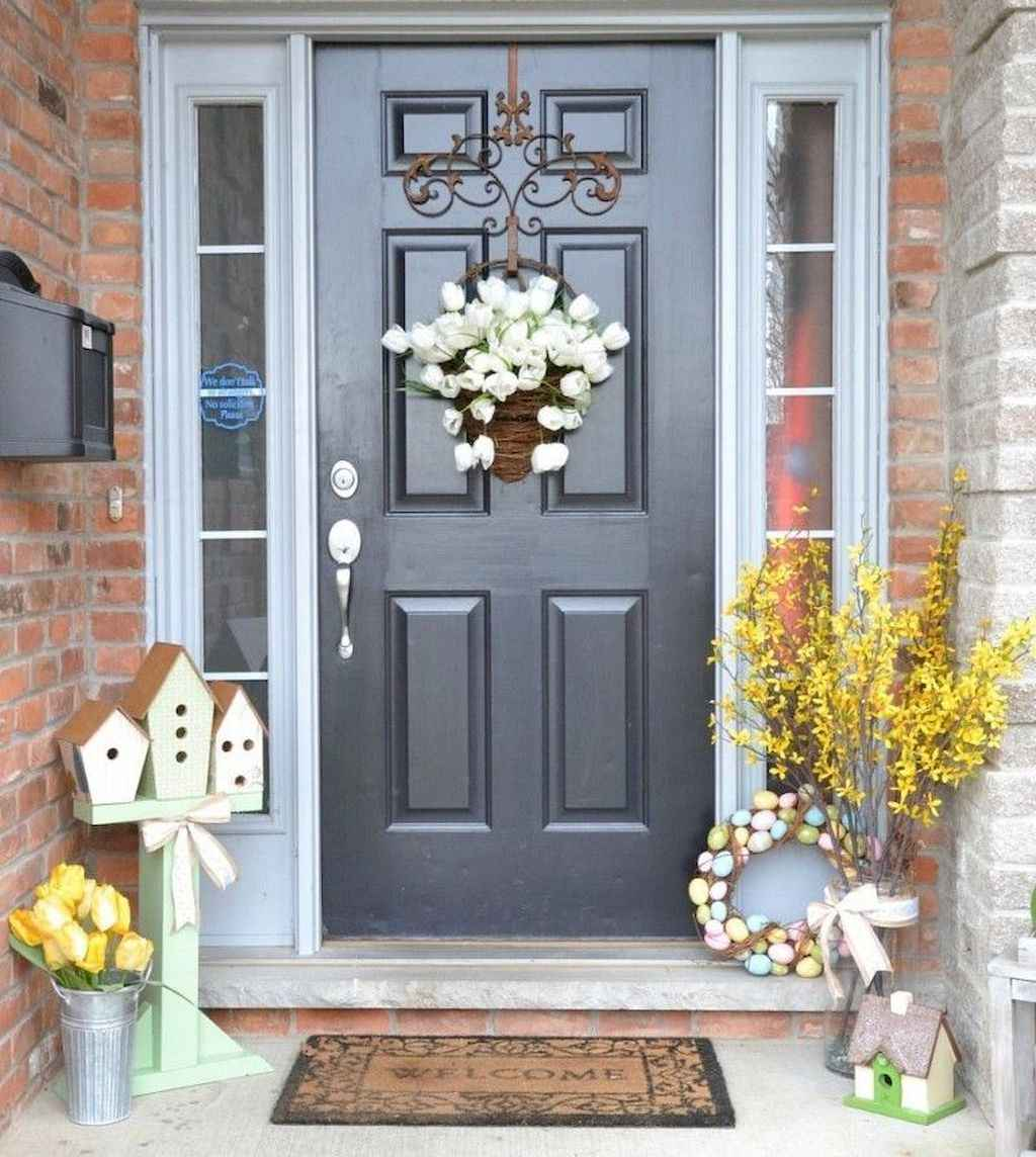 02 beautiful spring front porch decorating ideas
